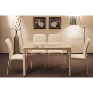 Стол Damar и 4 стула H623