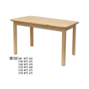 Обеденный стол Drewmax ST-104